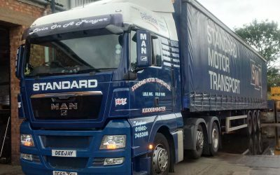 Our haulier has swung into action to help a Gorilla in distress!
