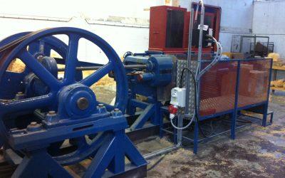 We have a shinny new wood wool machine!